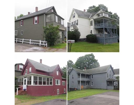 Многосемейный дом для того Продажа на Main Street Main Street Spencer, Массачусетс 01562 Соединенные Штаты