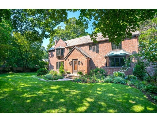 "Incredible opportunity to own a newly renovated 5 bed, 5.5 bath dream home in one of New England's most coveted neighborhoods! This spectacular brick English Colonial offers an A+ location with exquisite brand new 2017 finishes on 4 levels of living. Highlighted by a stunning designer state of the art kitchen showcasing a sleek contrast of Carrera and Bardiglio Marble countertops and oak hardwood floors. Chic young interiors drenched in sunlight. Noteworthy features include a luxurious master suite, fully equipped 9 zone Sonos system, finished basement with entertainment lounge and bar, fitness room, sauna and steam shower. Conveniently nestled on a corner lot of a private way, this beautifully restored manor home is a rare opportunity to live in an estate neighborhood with unbeatable proximity to everything that Chestnut Hill and Boston have to offer! Enjoy shops and restaurants at ""The Street"", Longwood Cricket Club, Green Line T access, Longwood Medical Center."