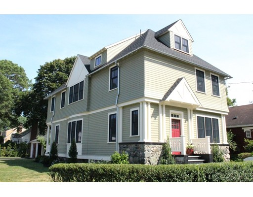 Single Family Home for Sale at 166 Parmenter Road Newton, Massachusetts 02465 United States
