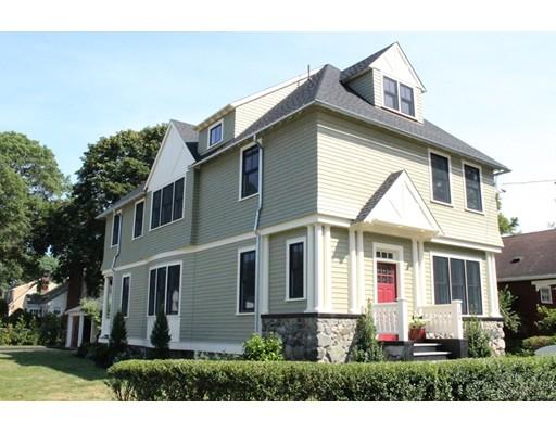 Maison unifamiliale pour l Vente à 166 Parmenter Road 166 Parmenter Road Newton, Massachusetts 02465 États-Unis