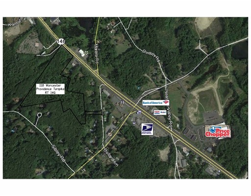 Land for Sale at 118 Worcester Providence Tpke 118 Worcester Providence Tpke Sutton, Massachusetts 01590 United States