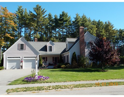 Casa Unifamiliar por un Venta en 2 Catherines Way Shirley, Massachusetts 01464 Estados Unidos