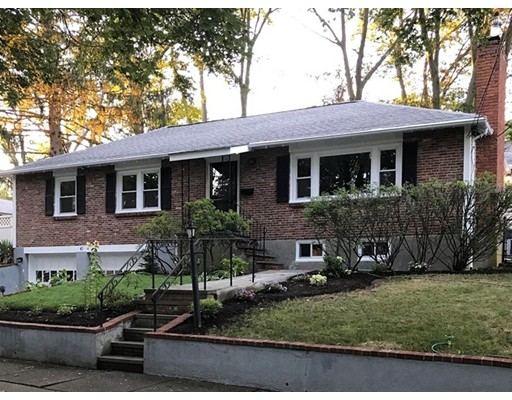 Single Family Home for Sale at 43 Kendall Road Newton, Massachusetts 02459 United States