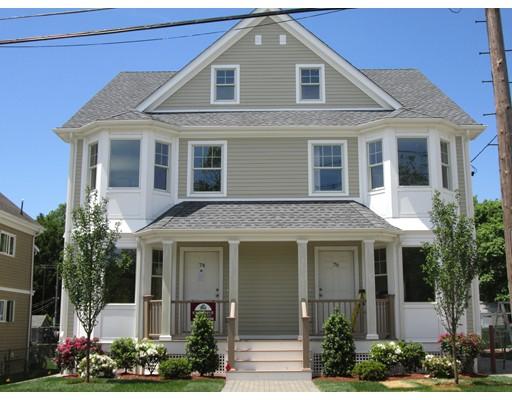 Частный односемейный дом для того Аренда на 76 Westminster Watertown, Массачусетс 02472 Соединенные Штаты
