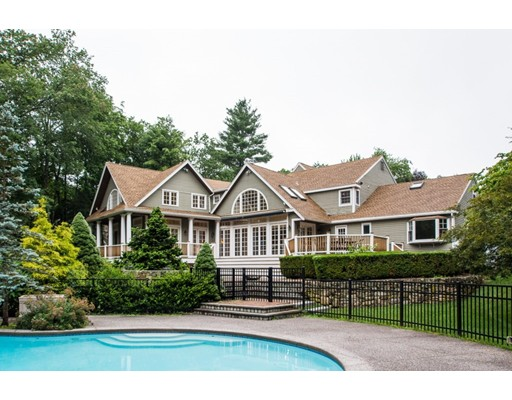 Single Family Home for Sale at 10 Dover Farm Road Medfield, Massachusetts 02052 United States