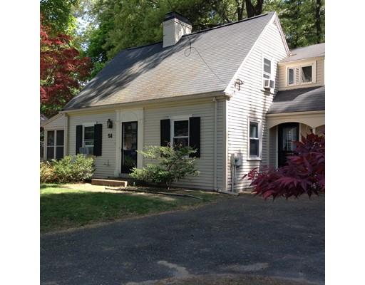 Single Family Home for Sale at 51 Kingsbury Street Wellesley, Massachusetts 02481 United States