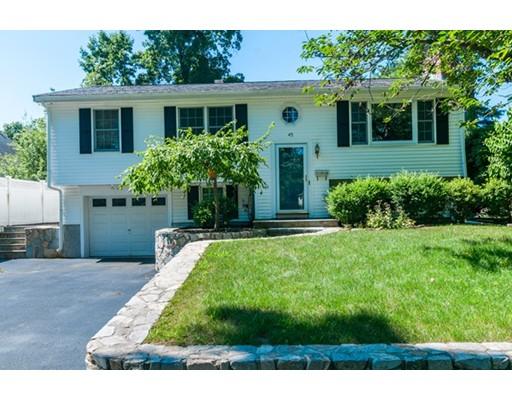 Maison unifamiliale pour l à louer à 45 Church Street Westwood, Massachusetts 02090 États-Unis
