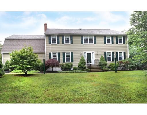 Maison unifamiliale pour l Vente à 101 County Street Dover, Massachusetts 02030 États-Unis