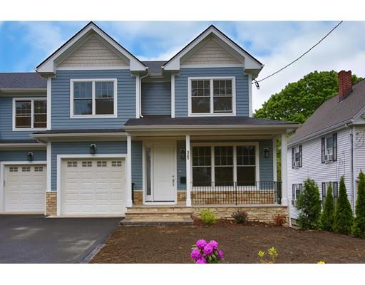 Appartement en copropriété pour l Vente à 32B Wetherell Street #32B 32B Wetherell Street #32B Newton, Massachusetts 02464 États-Unis