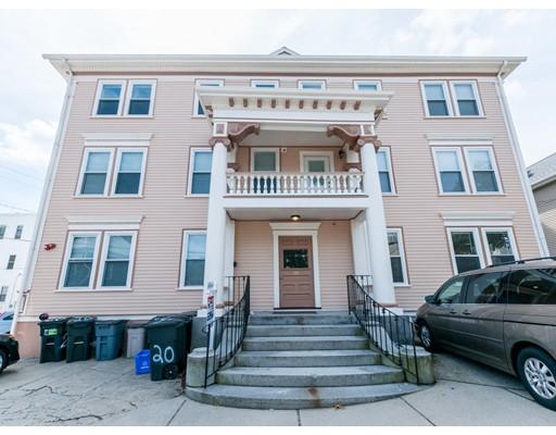 Appartement en copropriété pour l Vente à 20 Moraine Street Belmont, Massachusetts 02478 États-Unis