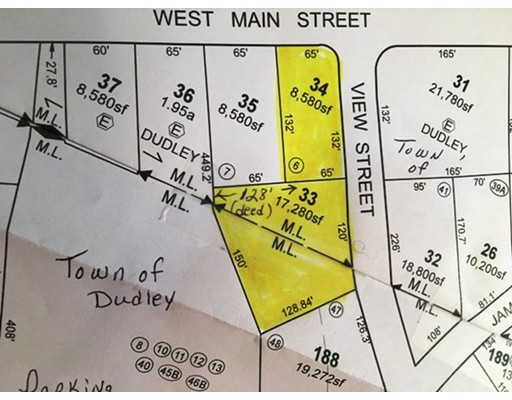 Land for Sale at View Street Dudley, 01571 United States