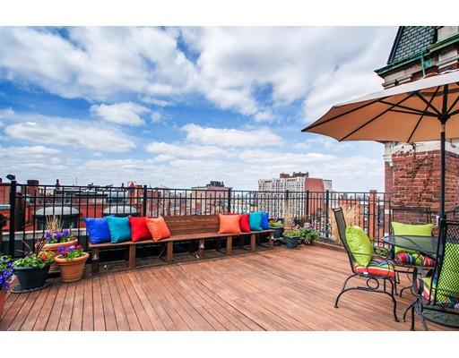 Casa Unifamiliar por un Alquiler en 411 Marlborough Street Boston, Massachusetts 02115 Estados Unidos