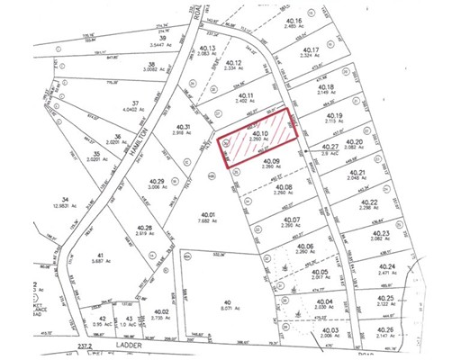 Land for Sale at 40 Stoney Brook Road 40 Stoney Brook Road Becket, Massachusetts 01223 United States