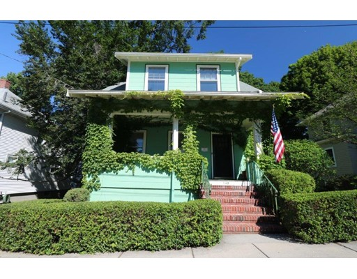 Charming Craftsman Colonial on lovely Aldrich St. looking for new owner to make this home their own.  Lush grounds, lovely porches and moments to train and shops