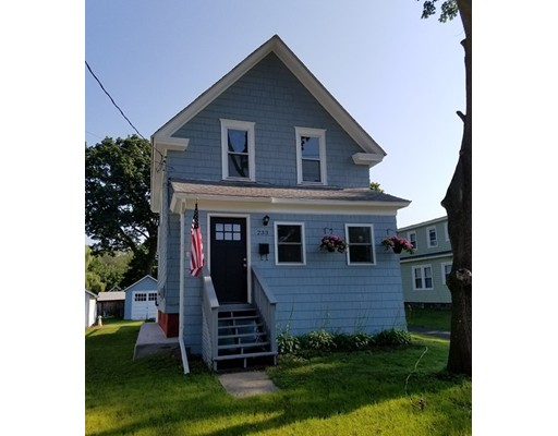 Single Family Home for Sale at 233 Silver Street 233 Silver Street Greenfield, Massachusetts 01301 United States