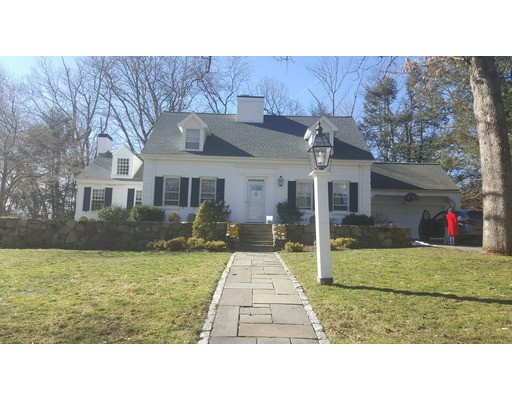 Single Family Home for Rent at 46 Old Colony Road Wellesley, Massachusetts 02481 United States