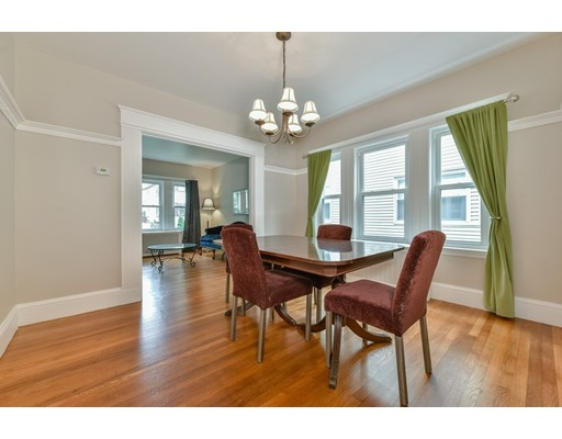 Close to the West Roxbury Commuter Rail, 15 minutes to Back Bay or South Station. All the local feel of the suburbs with the convenience of living in the city. This large three-bedroom condo has been updated with refinished floors, freshly painted, and granite counters in the extra-large kitchen. Enjoy exclusive use of Front and Back Porches, off-street parking, washer & dryer in building.