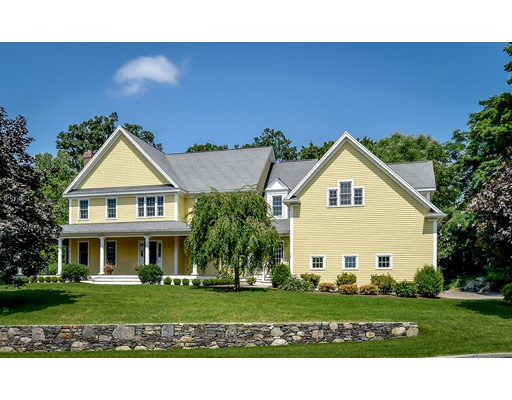 Casa Unifamiliar por un Venta en 11 Davis Brook Drive Natick, Massachusetts 01760 Estados Unidos