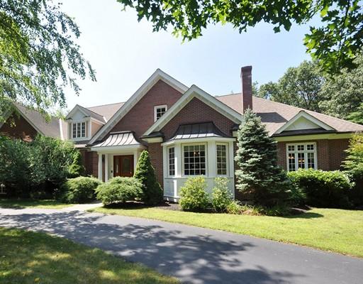 独户住宅 为 销售 在 9 Stratford Way 9 Stratford Way 林肯, 马萨诸塞州 01773 美国