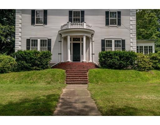 Single Family Home for Sale at 186 Main Street Groton, Massachusetts 01450 United States