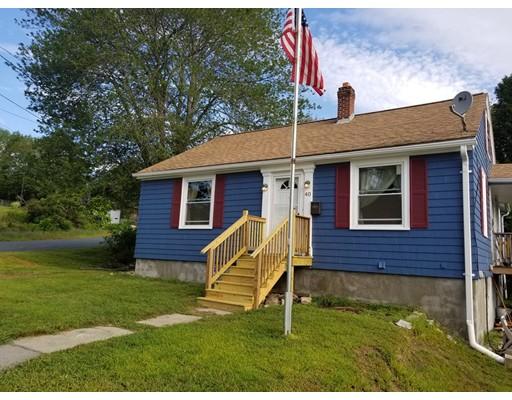 واحد منزل الأسرة للـ Sale في 40 Brandon Road Dudley, Massachusetts 01571 United States