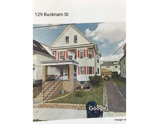 Casa Multifamiliar por un Venta en 129 Bucknam Street Everett, Massachusetts 02149 Estados Unidos