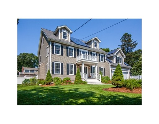 Dream home awaits!  Stately newer custom Colonial offers every amenity!  Luxurious, spacious and comfortable home is great for all lifestyles.  Inside,spacious rooms with a great open kitchen, first floor office/den, mudroom.  Enjoy lots of outdoor time with the custom designed heated salt water pool. Professionally landscaped lot, set back from the road and tons of parking! Conveniently located minutes from rte 93 and rte 95, walk to town center where there's lots of activities such as a huge Halloween parade, Flag Day Festival/Carnival with great fireworks, Festival on the Common (choral concert, tree lighting, ice sculpting, animals, Santa, etc) Minutes to Horn Pond, walking trails, festivals and concerts! O'Brien Ice Rink with public skate fall, winter and spring, and  new town Library currently underway!  -