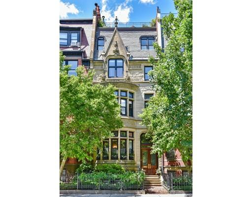 Maison unifamiliale pour l Vente à 344 Beacon 344 Beacon Boston, Massachusetts 02116 États-Unis