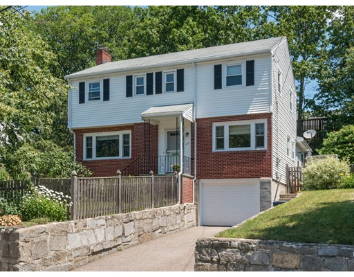 Single Family Home for Sale at 49 Sunset Hill Road Boston, Massachusetts 02132 United States