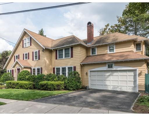 Частный односемейный дом для того Продажа на 76 Claflin Belmont, Массачусетс 02478 Соединенные Штаты