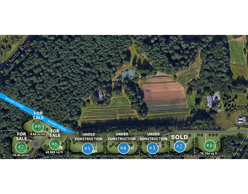 Land for Sale at 8 Belle Lane 8 Belle Lane Needham, Massachusetts 02492 United States