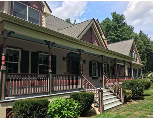 Частный односемейный дом для того Продажа на 41 Brown Road Harvard, Массачусетс 01451 Соединенные Штаты