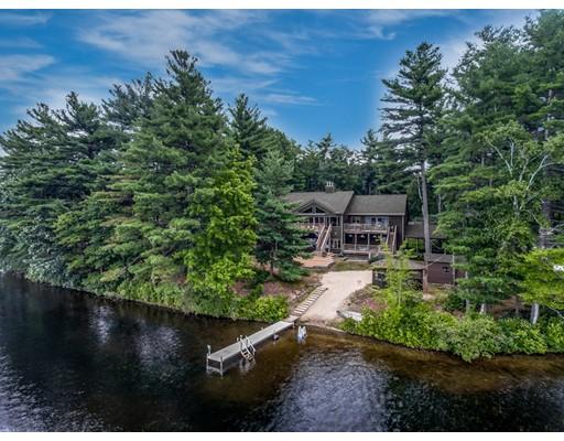 Частный односемейный дом для того Продажа на 186 Fort Pond Inn Road 186 Fort Pond Inn Road Lancaster, Массачусетс 01523 Соединенные Штаты