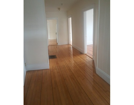 RENOVATED 3 BED,1 FULL BATH IN OAK SQUARE.  Walk into a spacious foyer that can be used as an office/mudroom.  Gleaming hardwood floors throughout, Newer windows, Gas forced air/central a.c, Large eat-in kitchen and generous size bedrooms with good size closet space.