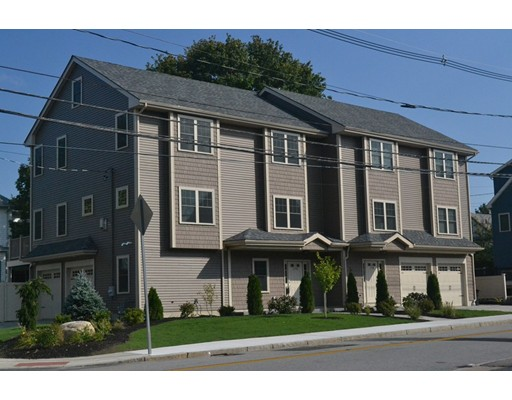 Brand, New, Construction -- Luxurious Town-house, that has it all, now available in Waltham ( Right on the Newton boarder ) Easy access to public transportation and highways.  This unit has over 3,000 sq/ft of living space, custom trim wood work, crown molding and wainscoting, high ceilings. granite countertops, recessed lights, designer gourmet island, white oak hardwood floors, gas fire place, dining area, master bedroom suite, walk in closet with elegant Juliet balcony, tiled shower stall and soaking tub for relaxation. All 5) bedrooms have spacious closets. Bonus bedroom on first floor along with separate entrance way and full bath, plus mudroom and a spacious 2 car attached garage ! Seller ready to make a deal !