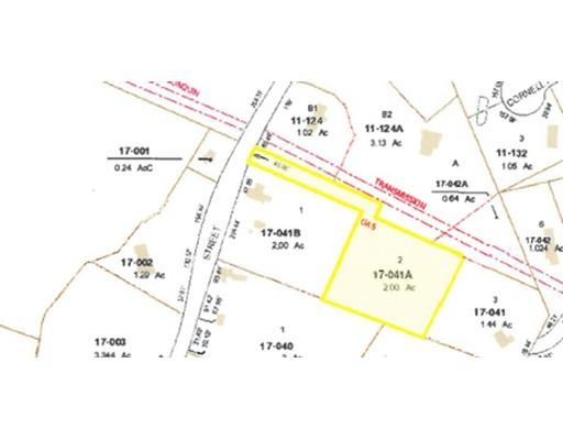 Terrain pour l Vente à 98 Centre St, Lot 2 Dover, Massachusetts 02030 États-Unis