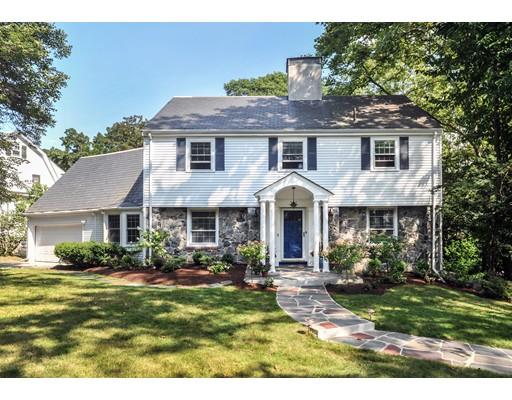 Частный односемейный дом для того Продажа на 33 Wolcott Rd Extension Brookline, Массачусетс 02457 Соединенные Штаты