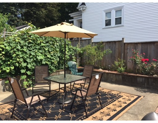 Hyde Park - Fairmount ! You'll want to check this out - updated, spacious and sun-filled three bedroom, one bath apt. Second-floor of two-family home. Offering a kitchen equipped with all SS appliances, granite counters, breakfast bar and tile backsplash! Hardwood floors. Formal Diningroom. C.T. Bathroom. Bonus three-season porch. Basement Laundry.  Efficient Gas Heat.  Approximately a mile to the commuter rail or Bus is across the street. Two parking spaces. Tenant Pays All Utilities. Sorry - No pets or smokers. Fico score of 700 or above required. Broker Fee.