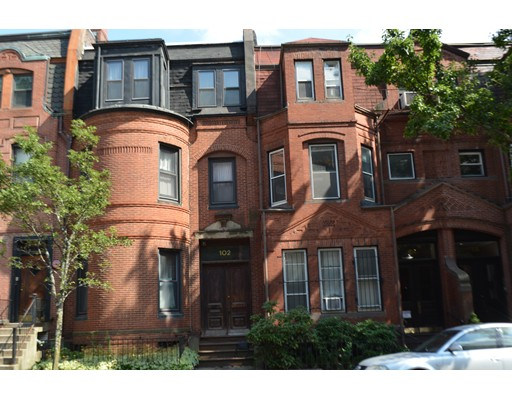 Single Family Home for Sale at 102 Saint Botolph Street Boston, Massachusetts 02115 United States