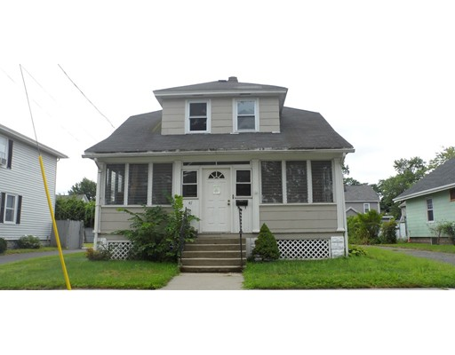 Single Family Home for Sale at 47 Davenport Street Chicopee, Massachusetts 01013 United States