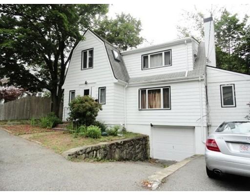Частный односемейный дом для того Продажа на 19 Wolcott Road Brookline, Массачусетс 02467 Соединенные Штаты