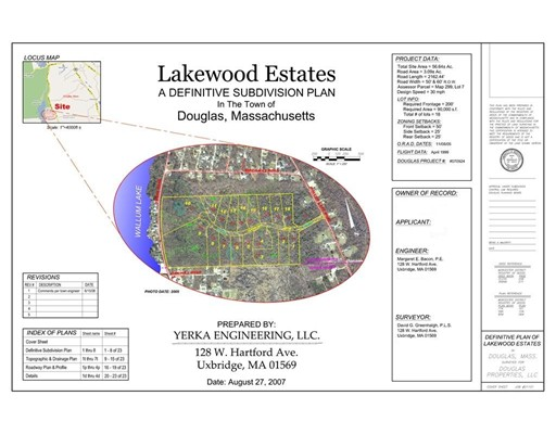 Land for Sale at 18 Wallum Lake Road Douglas, Massachusetts 01516 United States