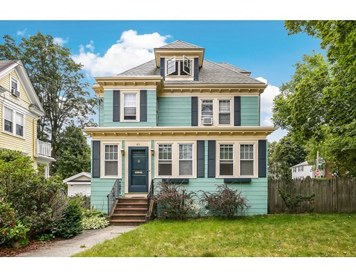 Single Family Home for Sale at 48 Anawan Avenue Boston, Massachusetts 02132 United States