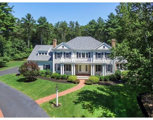 Частный односемейный дом для того Продажа на 40 Dana Road 40 Dana Road Boxford, Массачусетс 01921 Соединенные Штаты