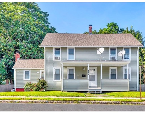Single Family Home for Sale at 213 E Main Street Chicopee, Massachusetts 01020 United States