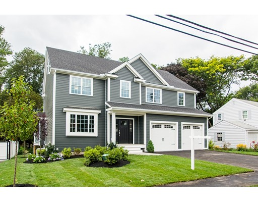 Single Family Home for Sale at 11 Campbell Road Arlington, Massachusetts 02476 United States