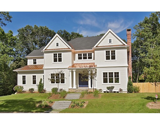 Single Family Home for Sale at 17 Bucknell Road Wellesley, Massachusetts 02481 United States