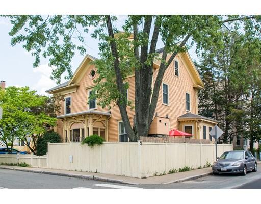 Appartement en copropriété pour l Vente à 51 Davenport Street Cambridge, Massachusetts 02140 États-Unis