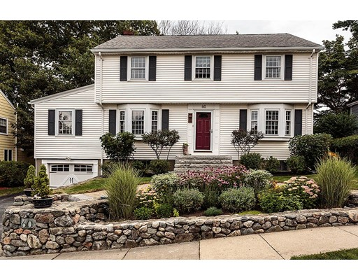 Single Family Home for Sale at 60 Watson Road Belmont, Massachusetts 02478 United States