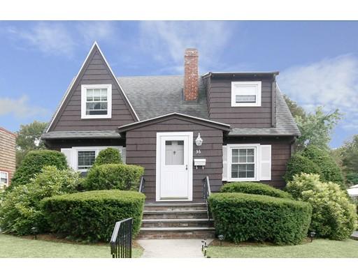 Maison unifamiliale pour l Vente à 36 Ashton Street Beverly, Massachusetts 01915 États-Unis